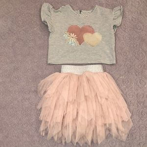 Pippa and Julie 2 piece outfit 2T